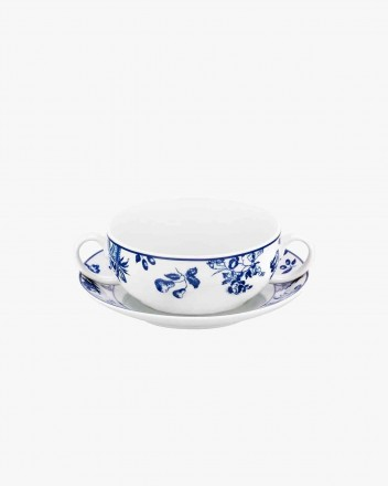 Chintz Azul Consomme Cup...