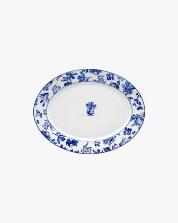 Chintz Azul Source Oval Small