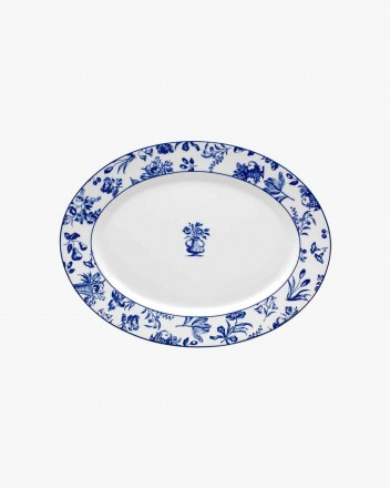 Chintz Azul Source Oval Medium