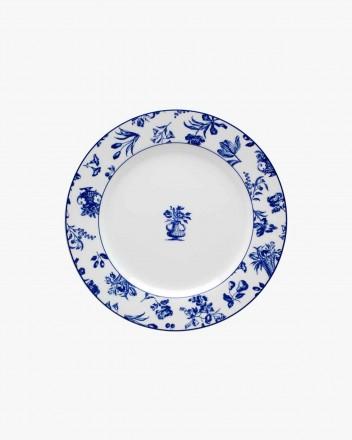 Chintz Azul Flat Plate