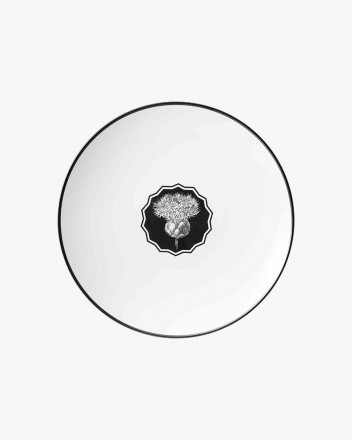Herbariae Dessert Plate White
