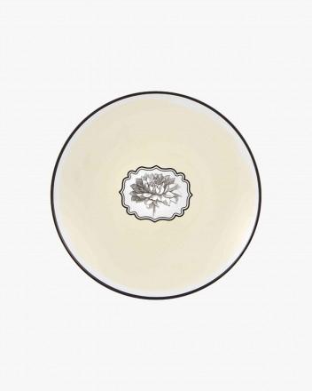 Herbariae Dessert Plate Yellow