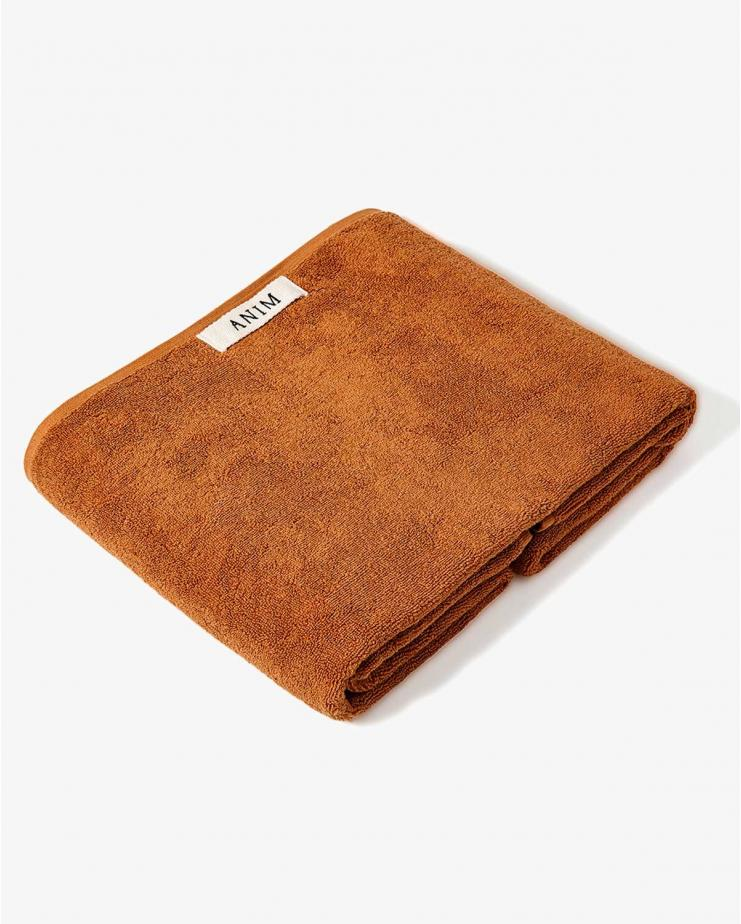 Terry Bath Towel Brown...