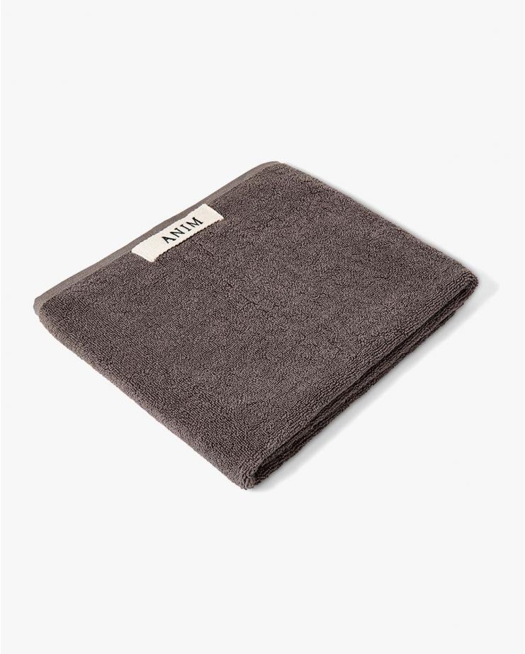 Terry Head Towel Grey 50x90 cm
