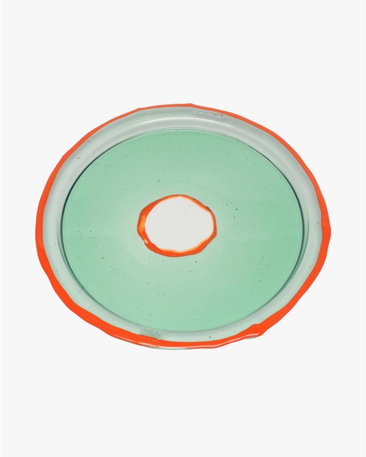 Round Tray Try-Tray M Aqua...