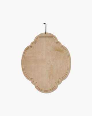 Butter Board Oval in Oiled Hard Maple