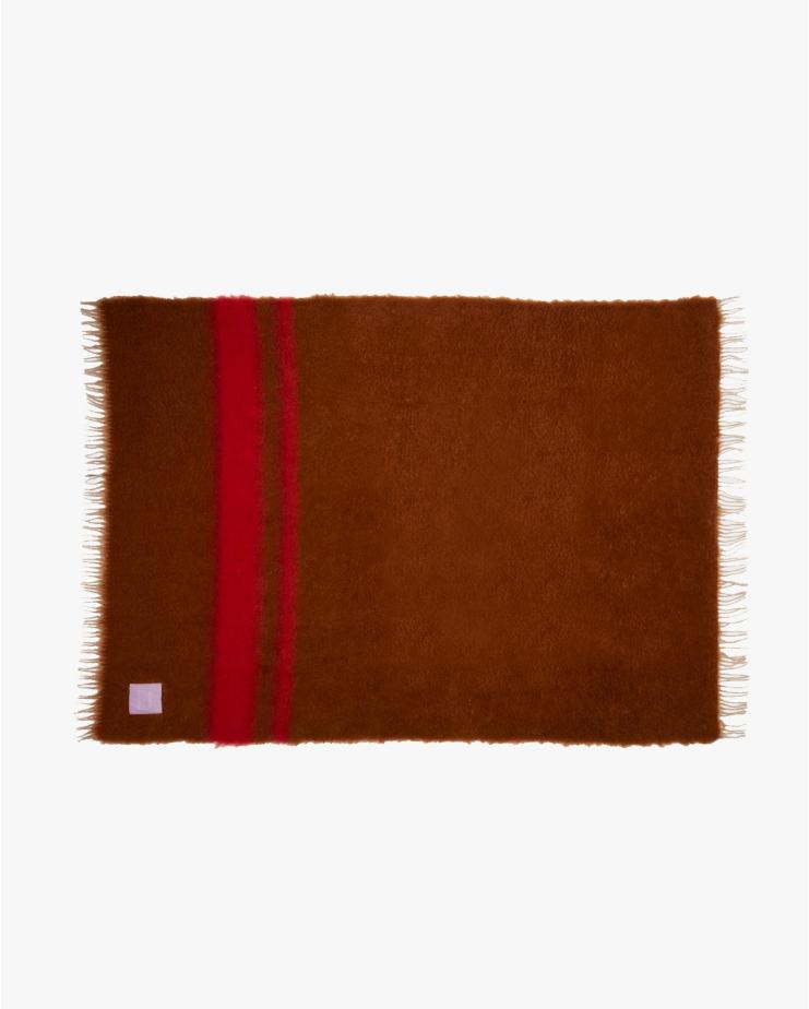 Mohair Blanket Brown