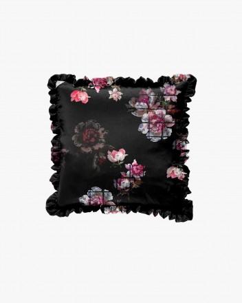 Black gird floral & black...