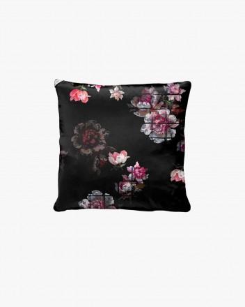 Black grid floral &...
