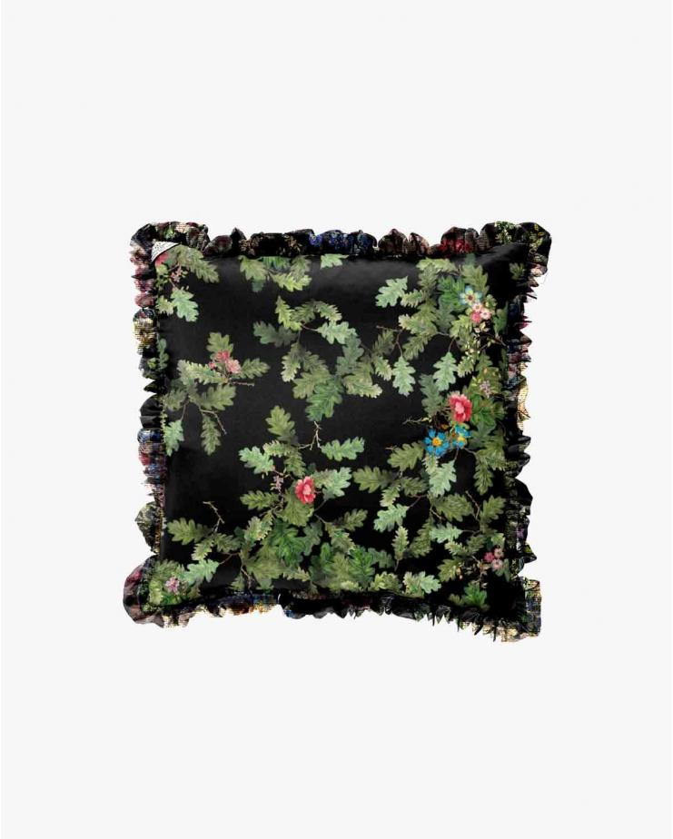 Black tapestry and oakleaf...
