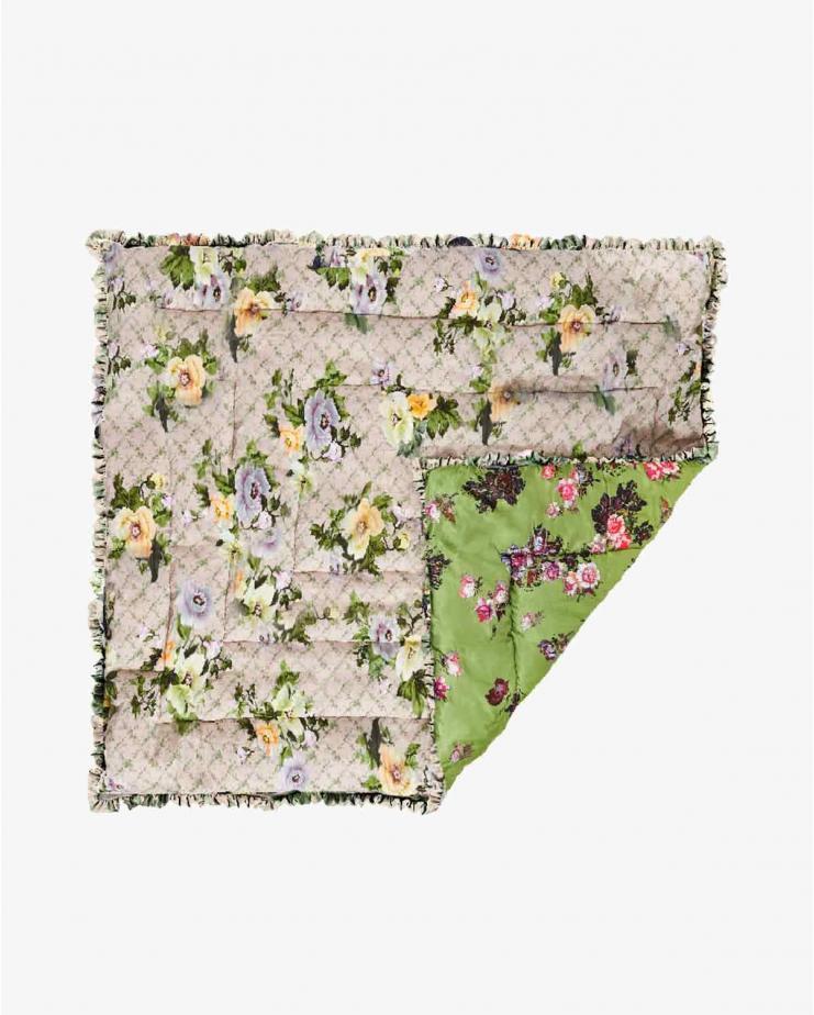 Large osaka floral green &...