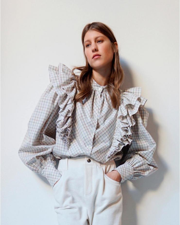 Iris Quadri Shirt