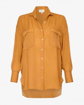 Cleo Shirt in Dune