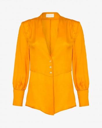 Gaia Shirt in Saffron