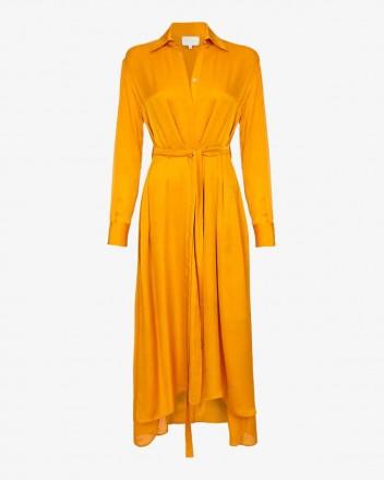Drea Dress in Saffron