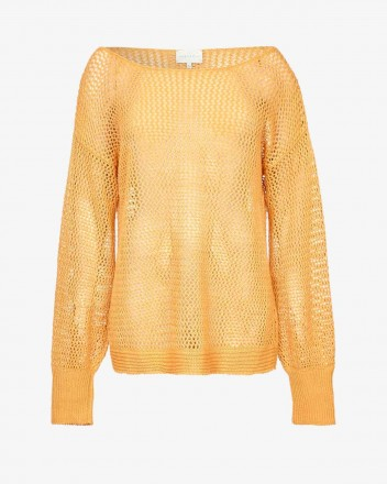 Chloe Sweater in Saffron