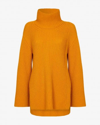 Mayka Sweater in Saffron