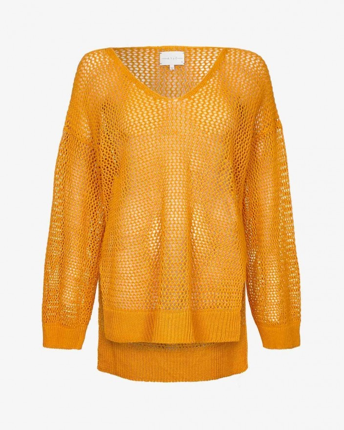 Lila Sweater in Saffron