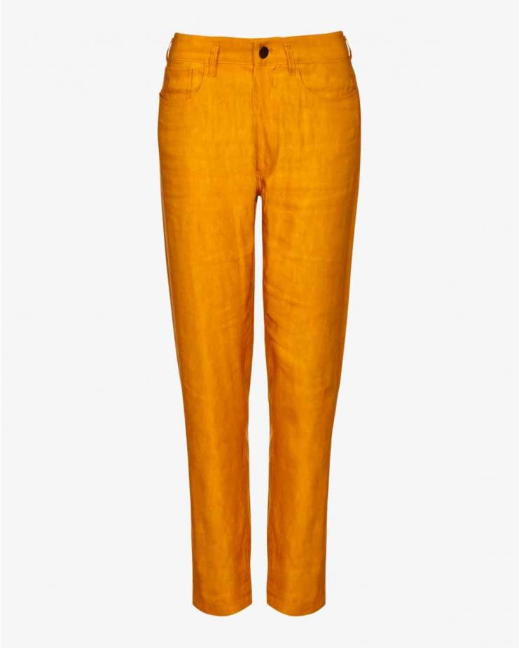 Kora Pants in Saffron