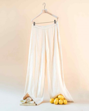 Ada Pants in Antique Ivory