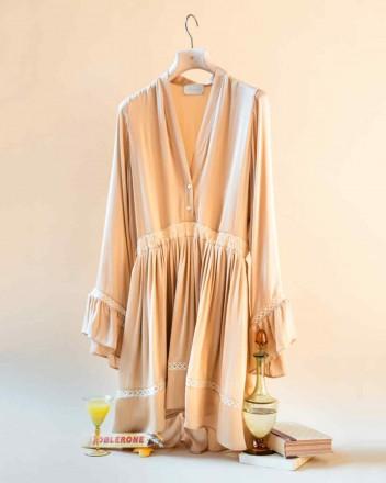 Devon Dress in Raffia