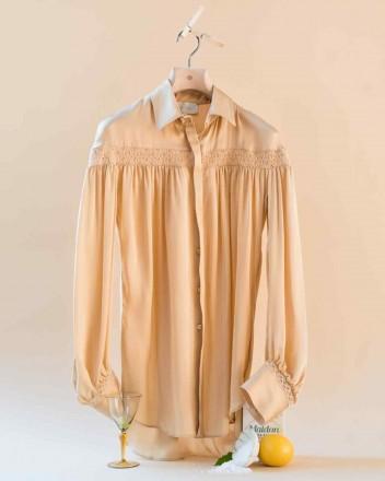 Amelia Shirt in Raffia
