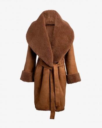 Anais Coat In Mocha