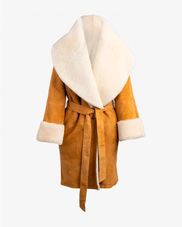 Anais Coat In Honey