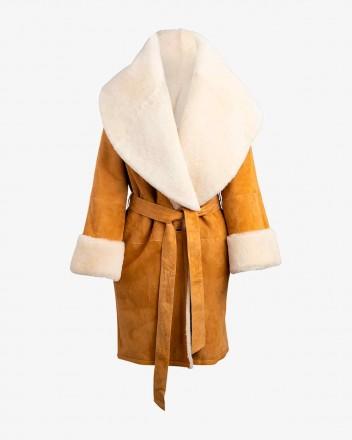 Anais Coat In Honey
