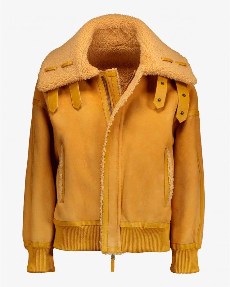 Pluto Jacket in Saffron