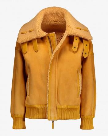 Pluto Jacket in Saffron