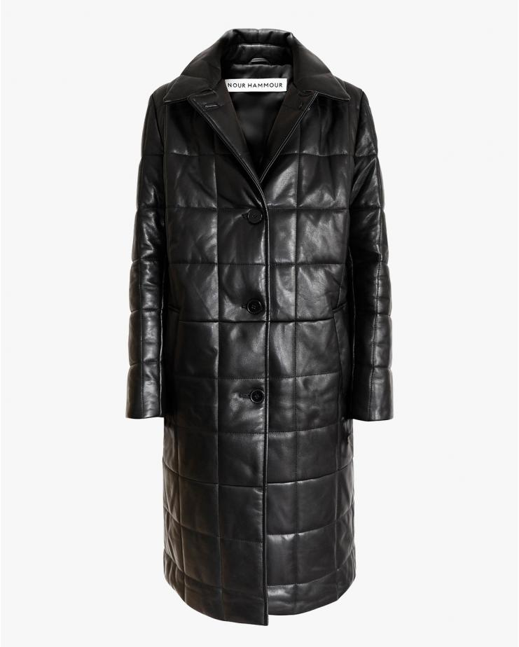 Astor Coat in Black