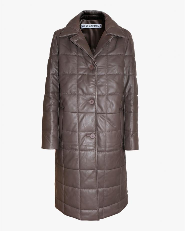 Astor Coat in Mink