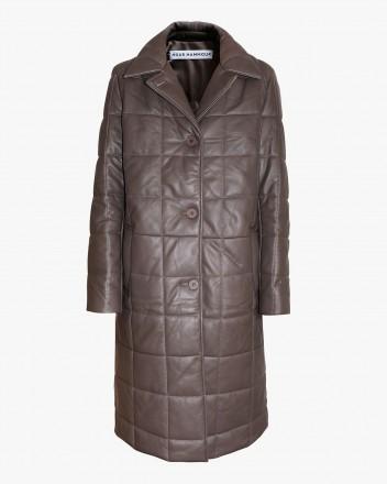 Astor Coat in Mink