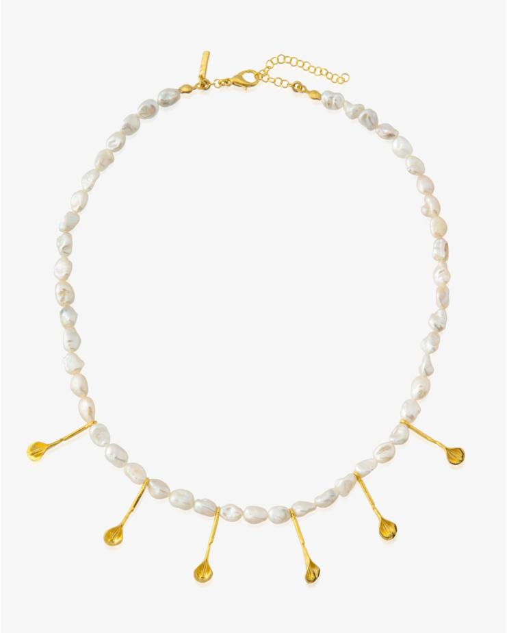 Symi Necklace in Ivory -...