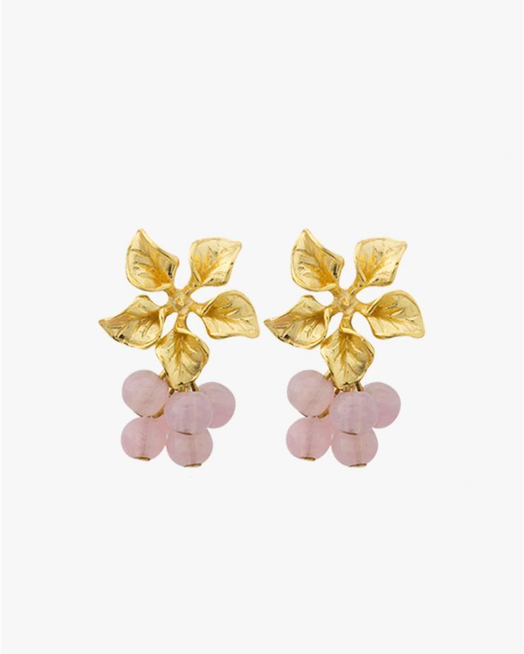 Magnolia Earrings in Light...