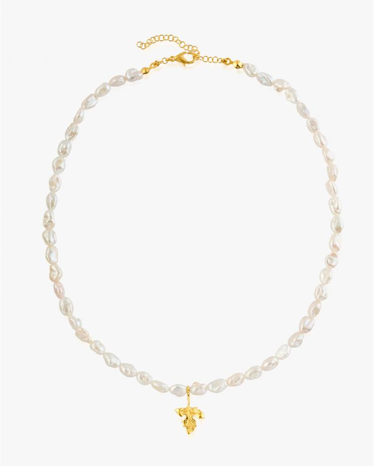 Bambi Choker with Pearls -...