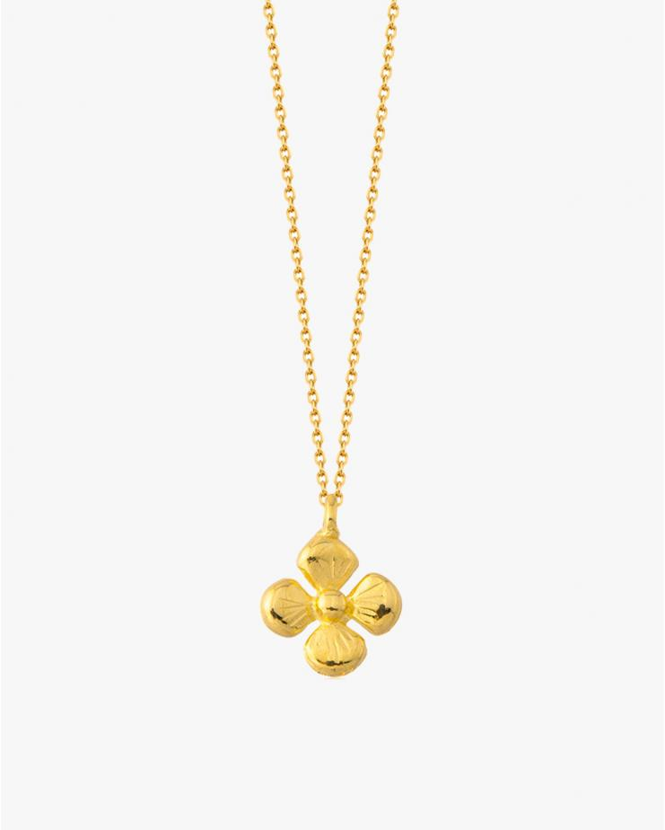 Bambi Necklace in Gold