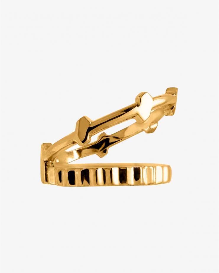 Anneau Apka Gold