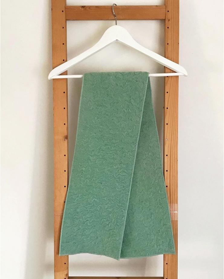 Soft Mint Scarf