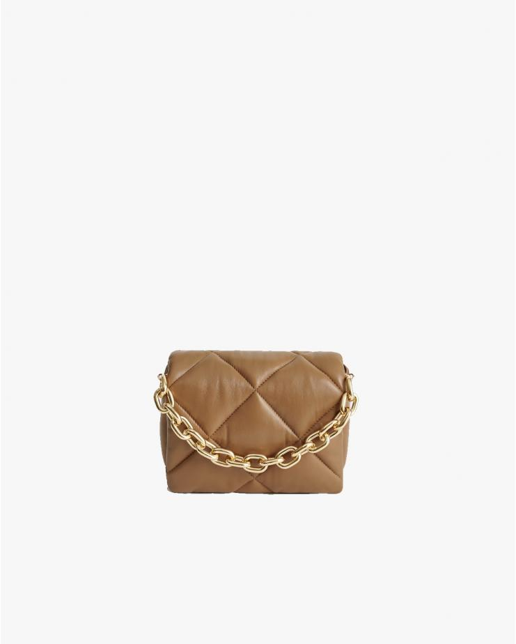 Brynn Chain Leather Bag in...