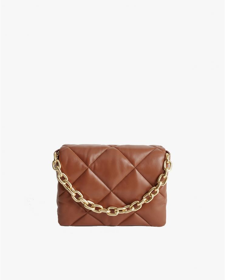 Brynnie Leather Bag in Tan