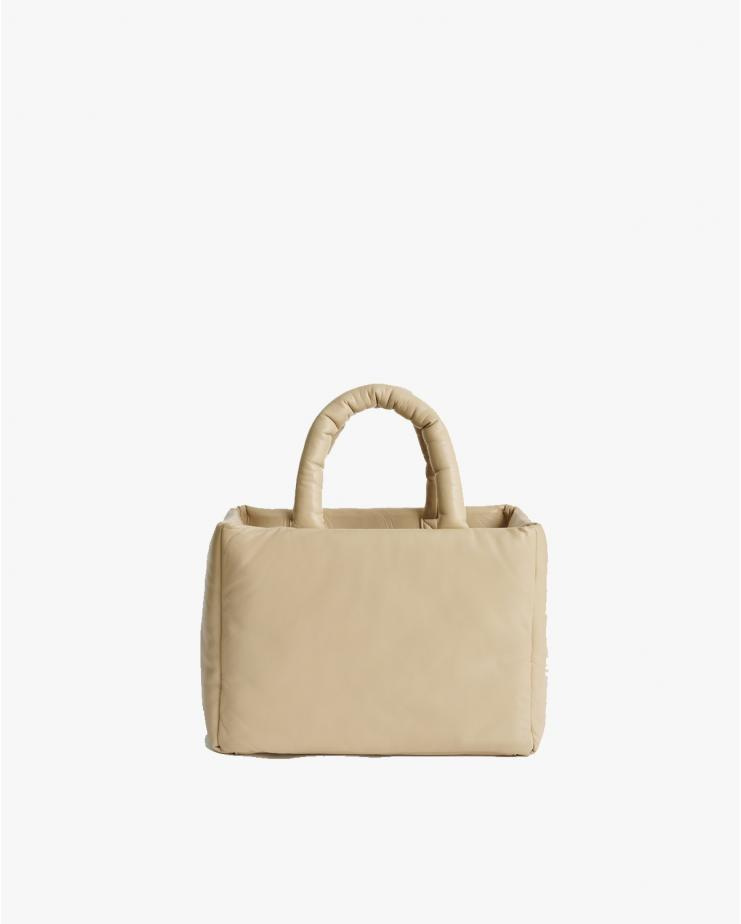 Davi Leather Bag in Warm Sand