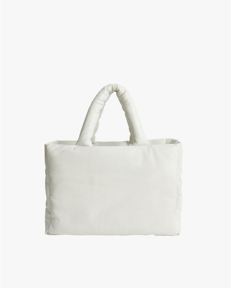 Davina Leather Bag in White