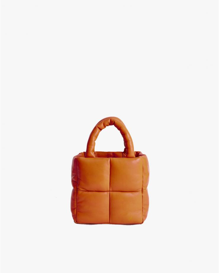 Rosanne Puffy Leather Bag...