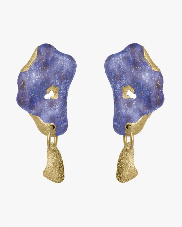 Laberinto Azul Mini Earflares