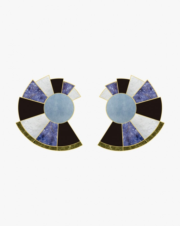 Nautilus Deep Sea Earrings