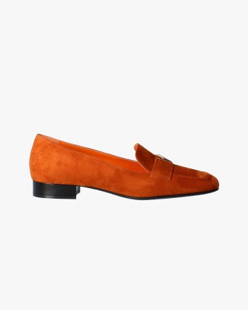 Millow Loafer in Tangerine