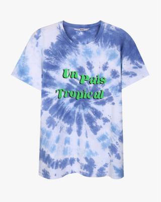 Tie Dye Tropical T Shirt