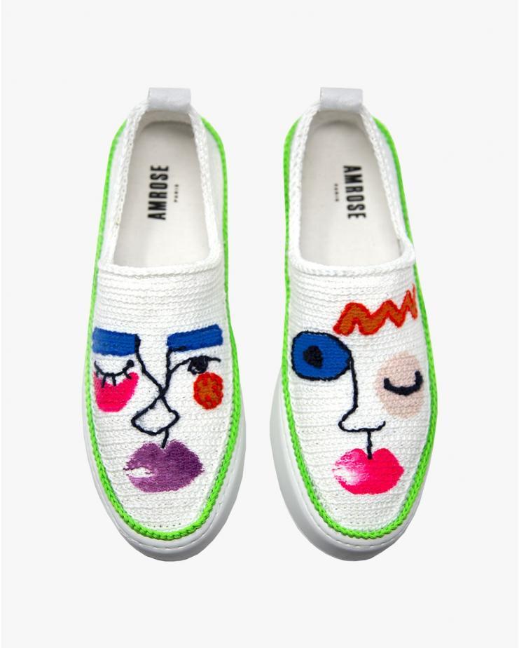Visage Green Sneakers